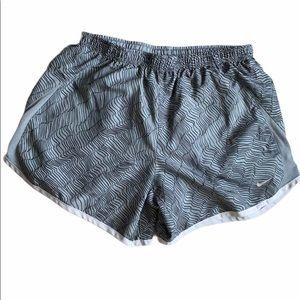 Nike Dri-Fit Gray Black Shorts Size XL